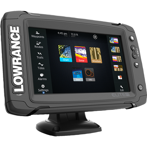 LOWRANCE ELITE 7 TI TOUCH NO XD