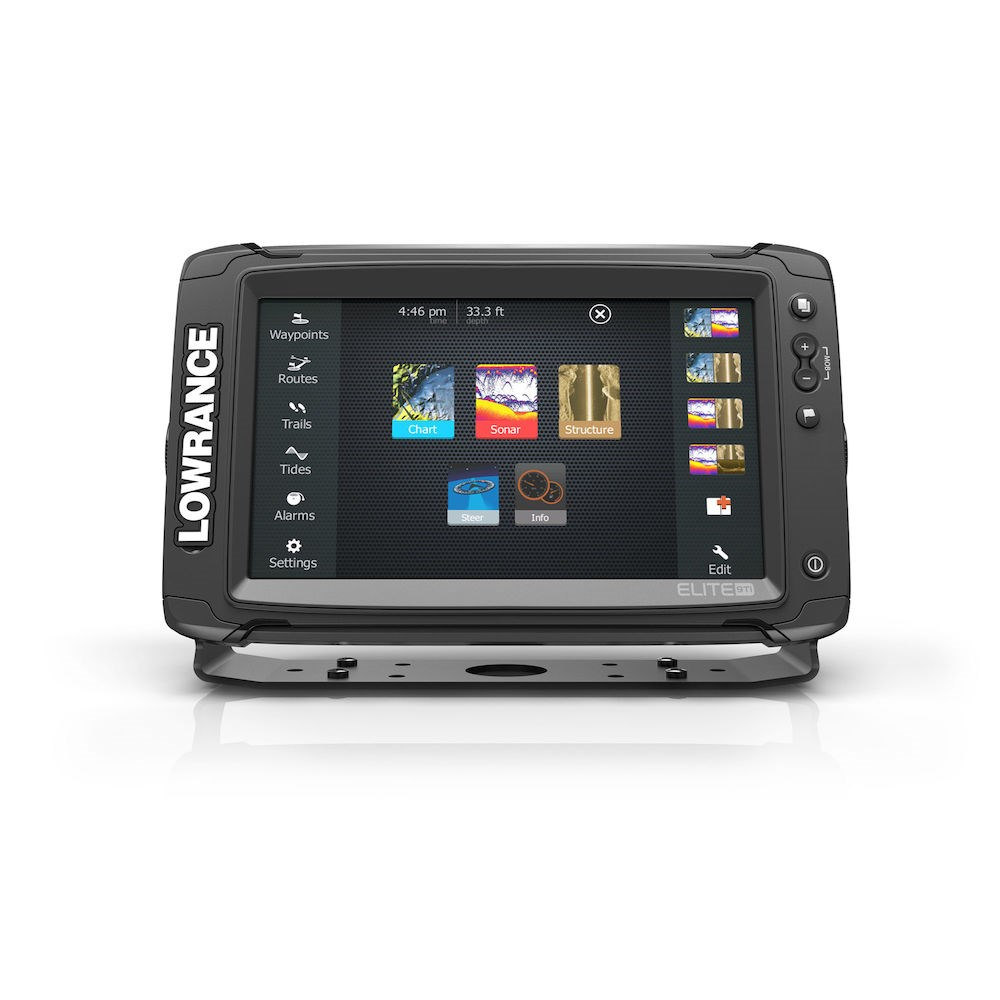 Legacy Products: LOWRANCE ELITE 9 TI MED/HIGH TOTALSCAN